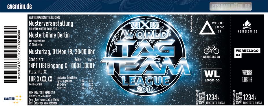 Karten für Wrestling: wXw World Tag Team League 2018 in Oberhausen