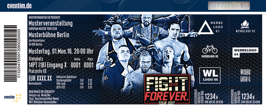 Karten für wXw Wrestling: Fight Forever Tour in Hamburg