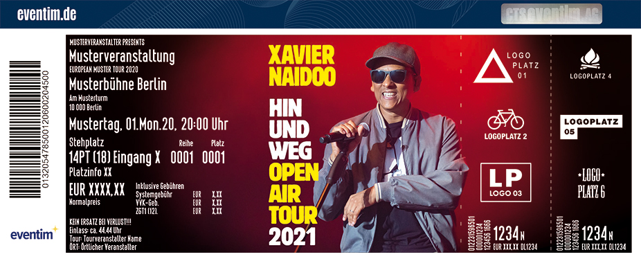 Xavier Naidoo - Hin und Weg Open Air 2021