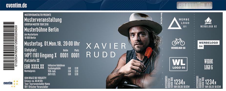 Xavier Rudd Karten für ihre Events 2018