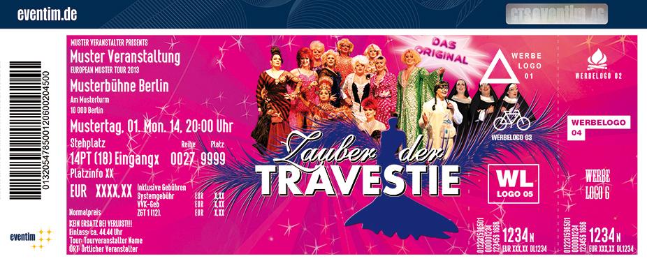 Karten für Zauber der Travestie - Fräulein Luise und ihr Ensemble - das Original in Döbeln