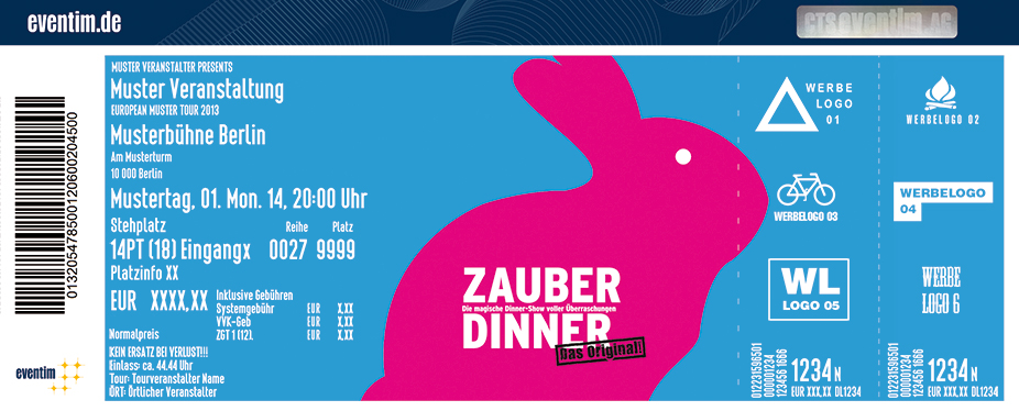 Karten für Zauber-Dinner präsentiert von WORLD of DINNER in Köln