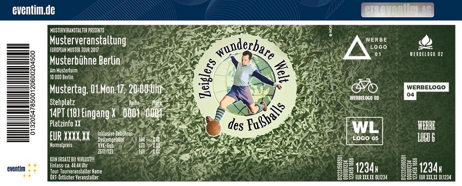 Zeiglers Wunderbare Welt Des Fussballs Karten für ihre Events 2018