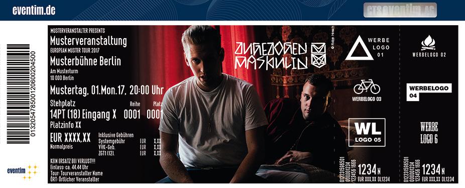 Karten für Zugezogen Maskulin - Alle gegen Alle Live 2018 in Wien
