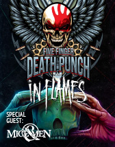 Five Finger Death Punch & In Flames