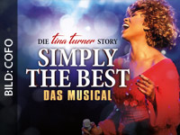 SIMPLY THE BEST - Tina Turners Leben als Musical