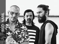 "THIRTY SECONDS TO MARS 2018 mit ""A Day in the Life of America"" auf Tour!"